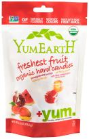 Yummy Earth Organic Candy Drops, Freshest Fruit, 3.3-Ounce Bags ( Packaging May Vary ) (Pack of 6)
