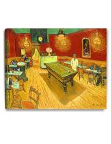 DECORARTS - The Night Cafe in The Place Lamartine in Arles, Vincent Van Gogh Art Reproduction. Giclee Canvas Prints Wall Art for Home Decor 30x24