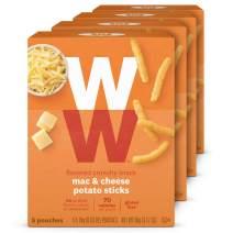 WW Mac & Cheese Potato Sticks - Gluten-free, 2 SmartPoints - 4 Boxes (20 Count Total) - Weight Watchers Reimagined