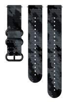 Suunto Watch Strap, 24mm, Textile, Concrete Black- Explore, M+L: 130-240 mm