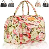 Lunch Bags for Women, longzon gifts for women, portable insulated adult girls large cute lunch box, lunch tote, work gifts for coworker, loncheras para comida adultos mujer, bolsos de mujer-PinkRose
