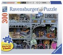 Ravensburger Camera Evolution 13586 300 Piece Large Pieces Jigsaw Puzzle for Adults, Every Piece is Unique, Softclick Technology Means Pieces Fit Together Perfectly