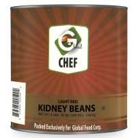 Global Chef - Light Red Kidney Beans - 108 OZ (3.06kg) - JUMBO Size