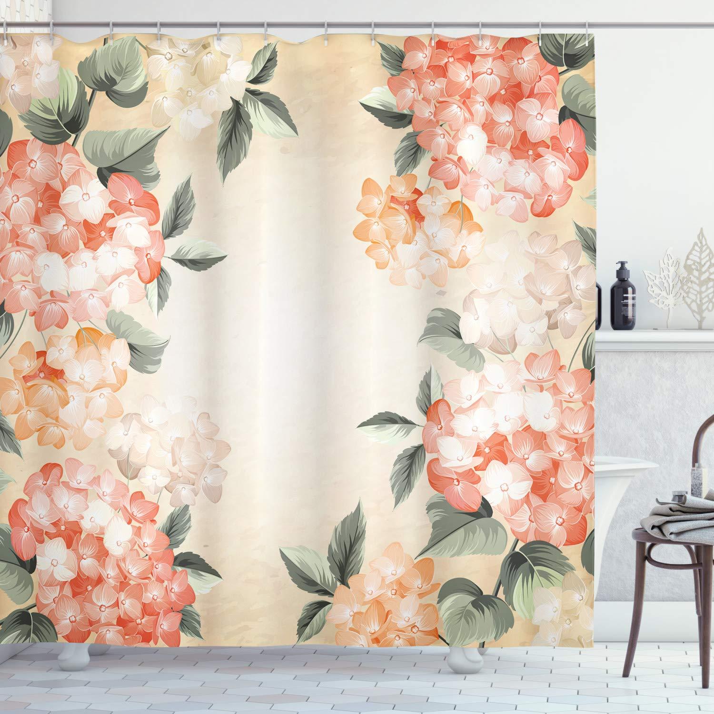 Ambesonne Fl Shower Curtain