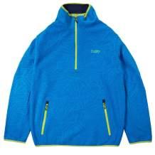 NEFF mens Neff Men's Pullover Sweater Fleece Jacket Quarter-zip