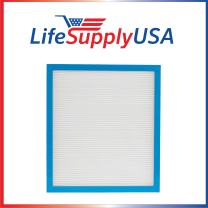 LifeSupplyUSA Replacement Filter Compatible with Homedics AF-75FL AF-75 and AR-10 -