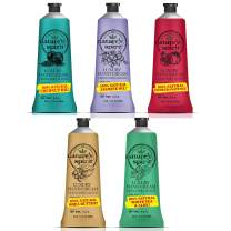 Nature's Spirit Luxury Hand Cream 5 Piece Collection - Includes Coconut 1.4 oz, Jasmine 1.4 oz, Pomegranate 1.4 oz, Shea Butter 1.4 oz & White Tea 1.4 oz Hand Creams