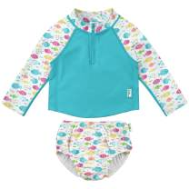 i play. by green sprouts Girls' Two Piece Rashguard