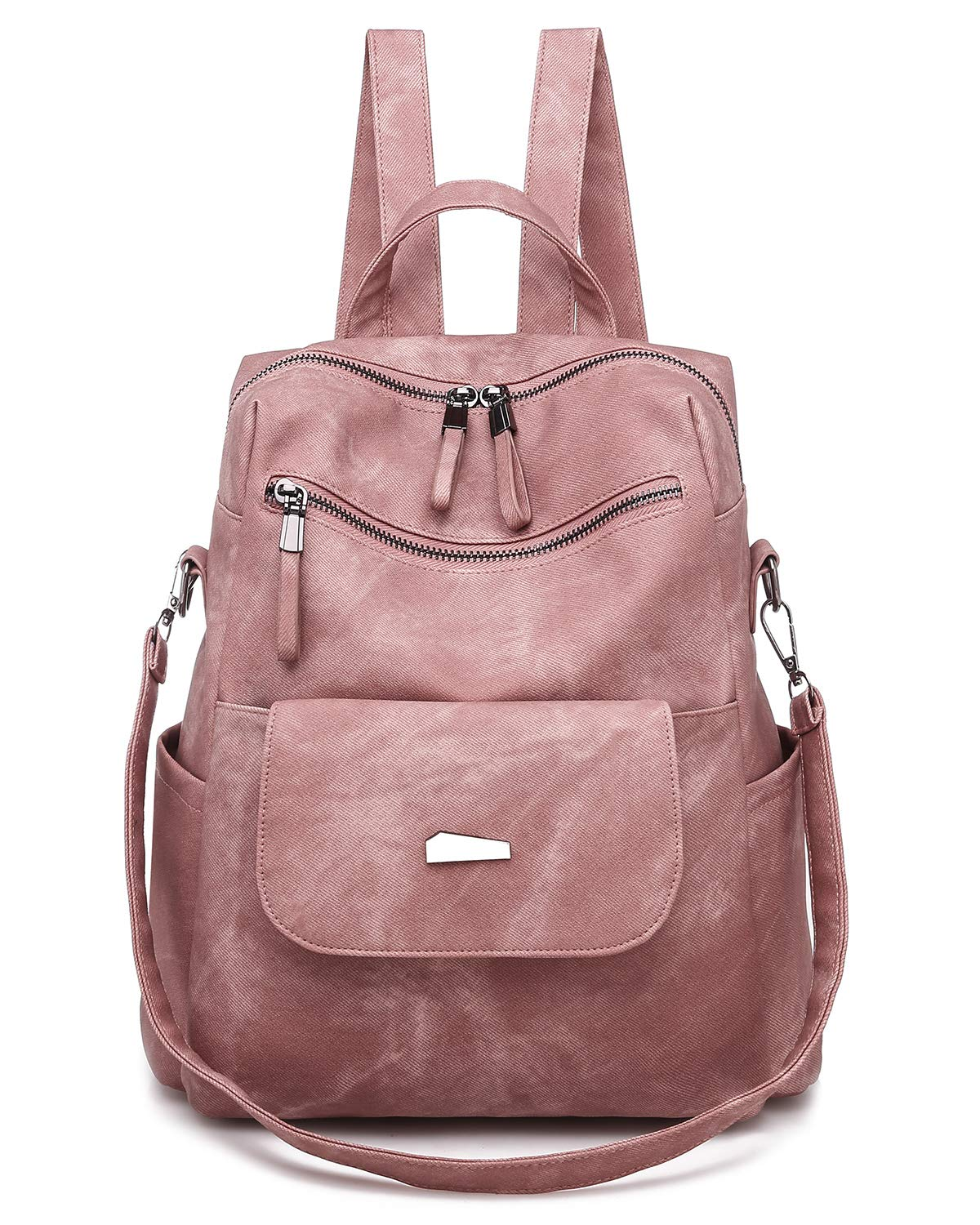 Qyoubi Women's New Fashion Backpack Purse Anti-theft Girls Shopping Daypack Casual Convertible Multipurpose Travel Bag