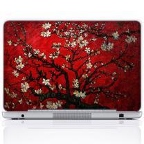 Meffort Inc 11.6 12 Inch Laptop Notebook Skin Sticker Cover Art Decal (Free Wrist pad) - Van Gogh Cherry Blossom