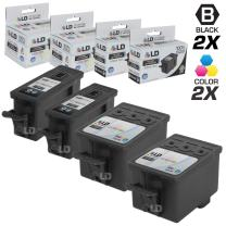 LD Compatible Ink Cartridge Replacement for Kodak 30XL High Yield (2 Black, 2 Color, 4-Pack)