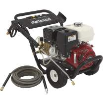Northstar Gas Cold Water Portable Pressure Washer Power Washer - 4200 PSI, 3.5 GPM, Honda Engine, Model Number 157127