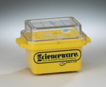 Bel-Art F18846-0020 Cryo-Safe Mini Cooler; -15ºC, 0.5, 1.5, or 2.0ml Tubes, 12 Places, Plastic, 5¹⁵⁄₁₆ x 4¼ x 1¹⁵⁄₁₆ in.
