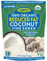 Let's Do...Organic Reduced Fat Shredded Coconut, 8.8 ounce pouches (Pack of 12)