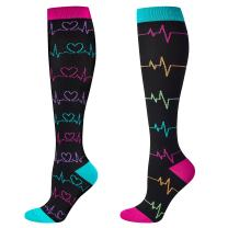 Compression Socks Women and Men, 20-30mmHg, Best for Nurses, Travel, Pregnancy