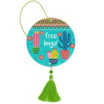 Karma Gifts, Cactus Coconut Air Freshener