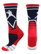MadSportsStuff Victory Baseball Socks with Player in Crew Length