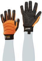 Cestus Pro Series HM Impact Glove, Work, Cut Resistant, Medium, Orange (Pack of 1 Pair)
