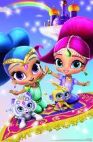"Trends International Nickelodeon Shimmer and Shine - Key Art, 22.375"" x 34"", Premium Unframed"