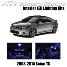 Xtremevision Interior LED for Scion TC 2008-2014 (10 Pieces) Blue Interior LED Kit + Installation Tool
