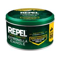 Repel Insect Repellent Citronella Candle, 10-Ounce, 6-Pack