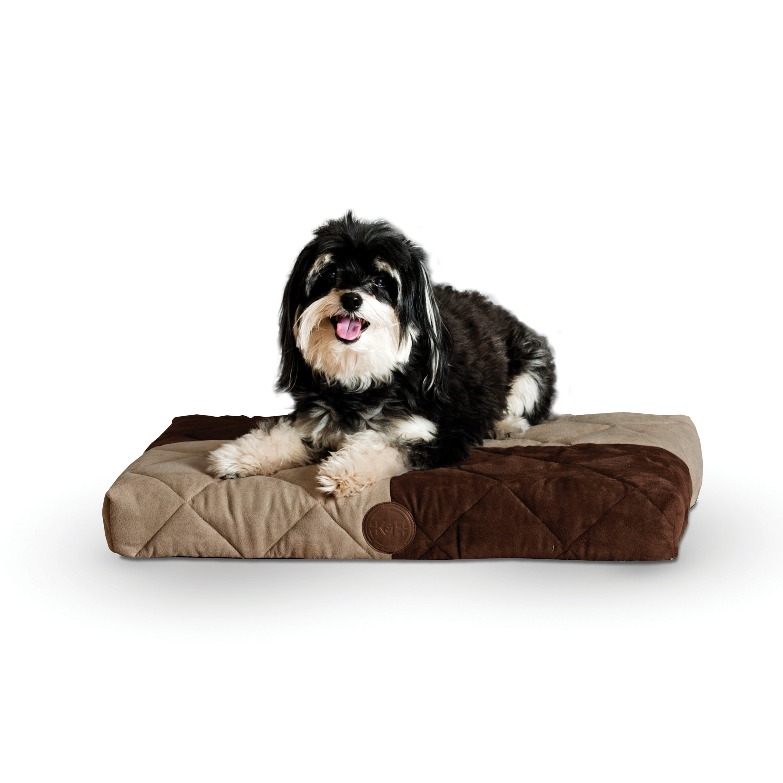 K&H Pet Products Quilted Memory Dream Bed 3.5-Inch