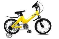 "Nice C BMX Kids Bike with Dual Disc Brake for Boy and Girl 12-14-16-18 inch Training Wheels (14"" Yellow)"
