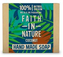 Faith In Nature Hand Made Coconut Soap With Organic Coconut 100g