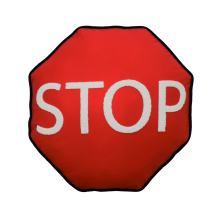 "Waverly Kids Under Construction Statement Accessory Pillow, 16"" x 16"", (Orange Red)"
