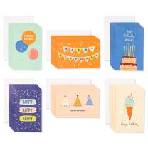 American Greetings Bulk Blank Birthday Cards Assortment (48-Count)