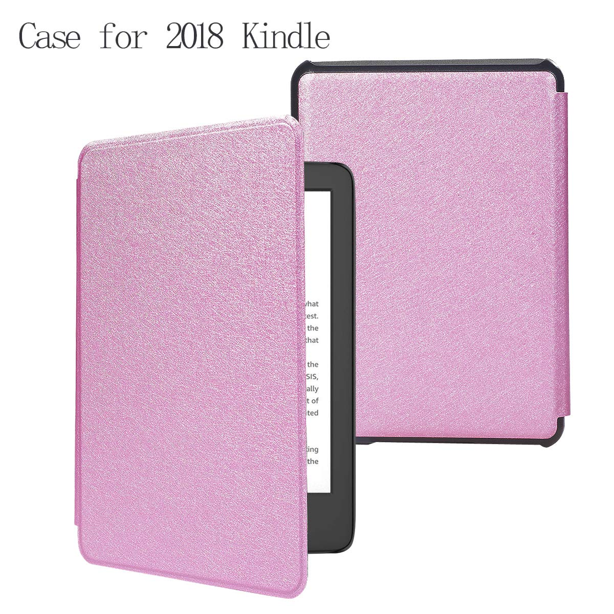 Kindle Paperwhite Cover Case for All-New Kindle Paperwhite (10th Generation, 2018 Release) - Premium Lightweight Cover with Auto Sleep/Wake for Amazon Kindle Paperwhite E-Reader (Rose Gold)