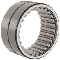 "Koyo HJ-182616 Needle Roller Bearing, Heavy Duty, HJ Type, Open, Oil Hole, Steel Cage, Inch, 1-1/8"" ID, 1-5/8"" OD, 1"" Width, 16000rpm Maximum Rotational Speed, 12100lbf Static Load Capacity, 8170lbf Dynamic Load Capacity"