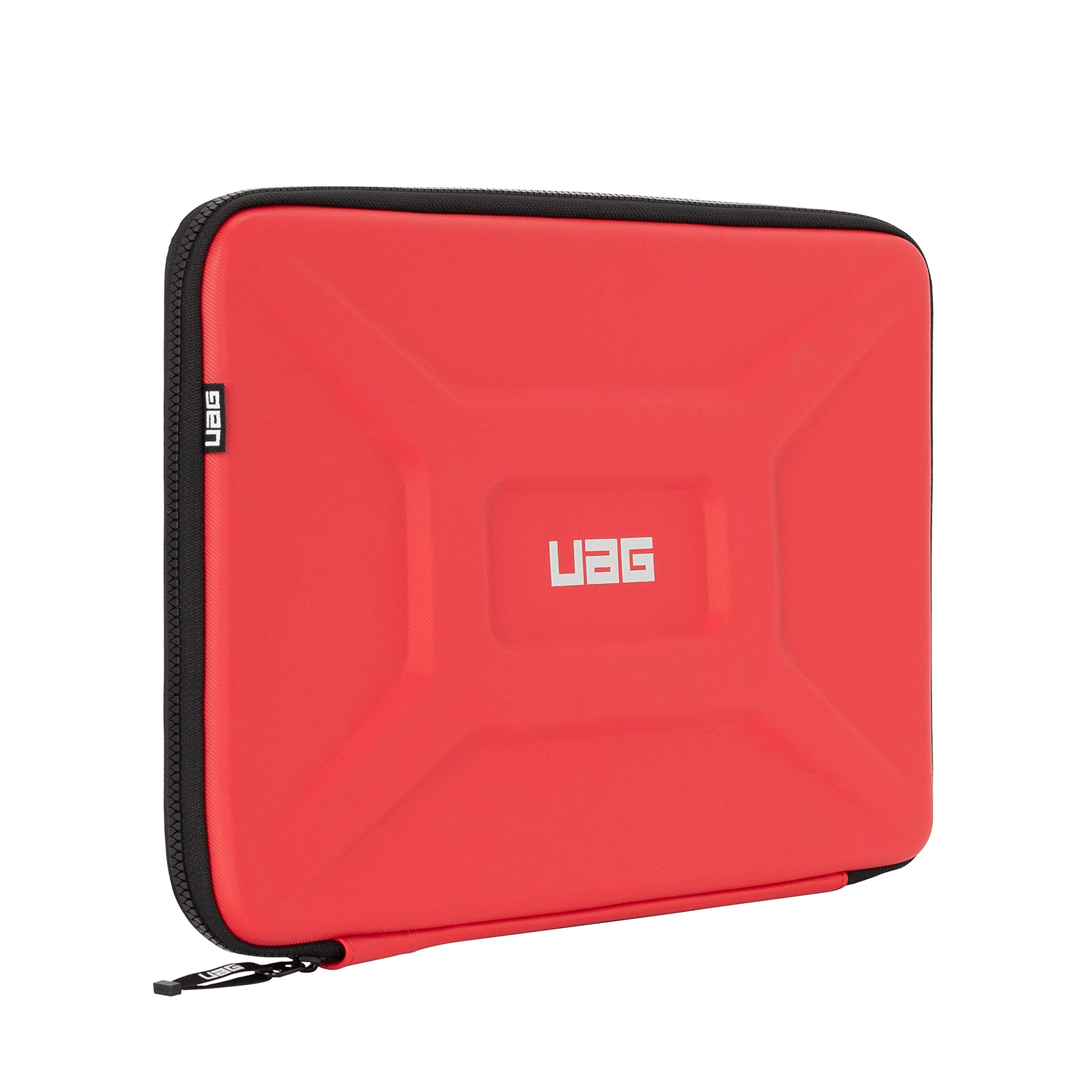 """URBAN ARMOR GEAR UAG Large Sleeve for 15"""" Devices Magma Rugged Tactile Grip Weatherproof Protective Slim Secure Laptop/Tablet Sleeve"""