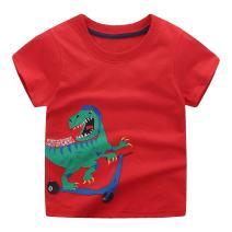 Fashion Boys Stylish Embroidered Casual T-Shirt