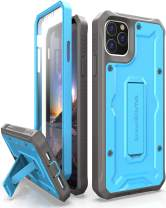ArmadilloTek Vanguard Designed for iPhone 11 Pro Max Case (6.5 inches) Military Grade Full-Body Rugged with Kickstand and Built-in Screen Protector - Blue