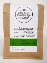 Little River Roasting Nicaraguan Finca El Porvenir Medium Roast Coffee (Whole Bean, 1 Pound)
