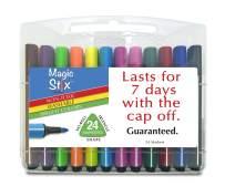 The Pencil Grip Magic Tri Stix 24 Color- Cap Off for 7 Days TPG-397