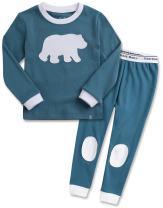 VAENAIT BABY 12M-12 Kids Toddler Girls Boys 100% Cotton Star Llama Bunny Nightwear Sleepwear Pajamas Pjs Set…