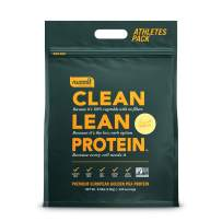 Nuzest Clean Lean Protein - Premium Vegan Protein Powder, Plant Protein Powder, European Golden Pea Protein, Dairy Free, Gluten Free, GMO Free, Naturally Sweetened, Smooth Vanilla, 100 Servings, 5.5lb