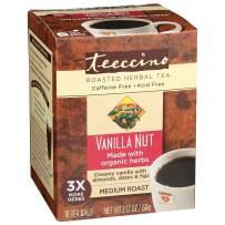 Teeccino Herbal Tea – Vanilla Nut – Roasted Chicory Tea, Prebiotic, Caffeine Free, Acid Free, 10 Tea Bags