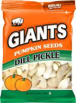 GIANTS Pumpkin Seeds, Dill Pickle Flavored Roasted 5.15 oz. (Pack of 12)