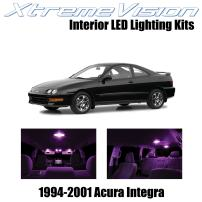 Xtremevision Interior LED for Acura Integra 1994-2001 (6 Pieces) Pink Interior LED Kit + Installation Tool