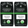 The Bean Coffee Company Organic Il Espresso, Classic Dark Roast, Whole Bean, 16-Ounce Bags (Pack of 2)