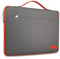 """Hseok Laptop Sleeve 13-13.5 Inch Case Briefcase, Compatible All Model of 13.3 Inch MacBook Air/Pro, XPS 13, Surface Book 13.5"""" Spill-Resistant Handbag for Most Popular 13""""-13.5"""" Notebooks, Dark Gray"""