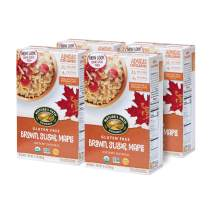 Nature's Path Organic Brown Sugar Maple Gluten Free Oatmeal, 4Count