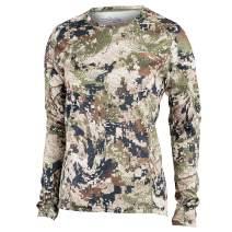 SITKA Gear Women's Hunting Core Lightweight Camo Crew Long Sleeve Shirt
