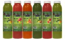 3 Day Organic Juice Cleanse by Good Stuff Juices - Summer Slim Kit - Detox Your Body, Lose Fat, and Feel Great - Cold-Pressed - Premium Taste - 18 Juices