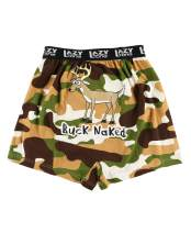 Lazy One Funny Animal Boxers, Novelty Boxer Shorts, Humorous Underwear, Gag Gifts for Men