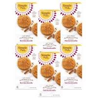 Simple Mills Almond Flour Snickerdoodle Cookies, Gluten Free and Delicious Soft Baked Cookies, Organic Coconut Oil, Good for Snacks, Made with whole foods, 6 Count (Packaging May Vary)