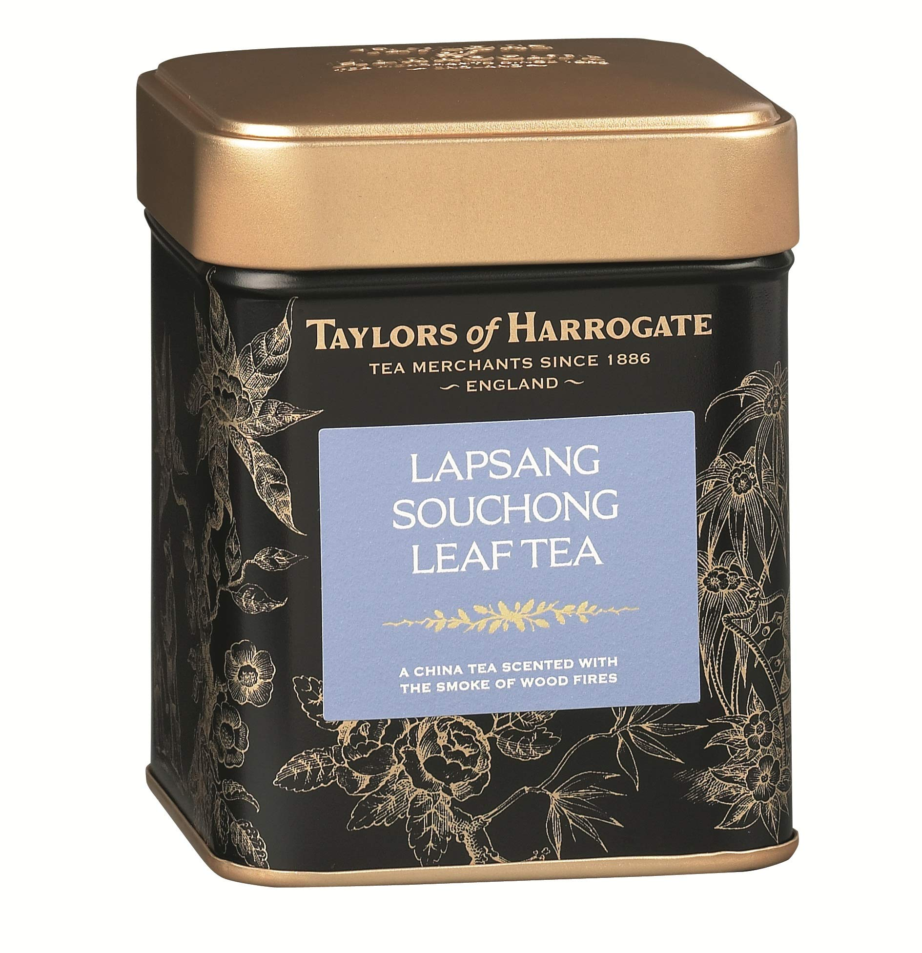 Taylors of Harrogate Lapsang Souchong Loose Leaf, 4.41 Ounce Tin (Pack of 2)